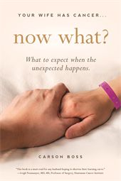 Written from the experienced perspective of someone who went through his wife's cancer Your Wife Has Cancer Now What? provides a practical overview of what you, as husband and best friend, need to know to help her navigate through this difficult time.
