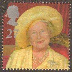Queen Mum - British postage stamp