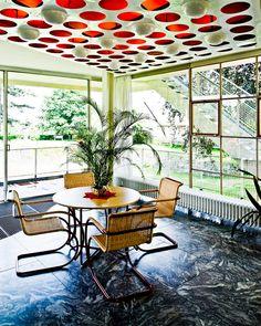 Haus Schminke No 04 Mid Century Interior Design, Mid-century Interior, Space Architecture, Contemporary Architecture, Bauhaus Art, Beautiful Dream, Hans Scharoun, Outdoor Decor, House