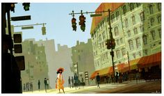 Illustrations Inspired by San Francisco's Downtown for Children
