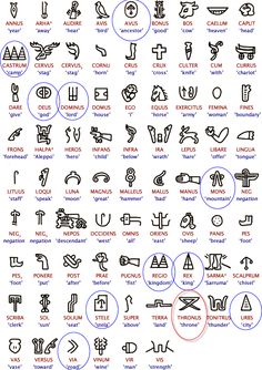 Latin Symbols and Meanings. Symbols are cool. but I like the idea of using greek/latin symbols. Latin Symbols, Symbols And Meanings, Egyptian Symbols, Ancient Symbols, Norse Symbols, Maori Symbols, Hawaiianisches Tattoo, Maori Tattoos, Samoan Tattoo