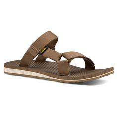 Teva Mens Universal Slide Sandals Shoes Dark Earth 13 Medium (D)  #Teva #Slides