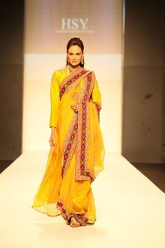 HSY Latest Collection in Dubai Fashion Week 2012
