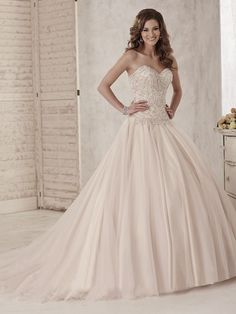21249aa0a8a Buy Christina Wu 15584 Wedding Dress today at MadameBridal.com authorized  retailer store. With