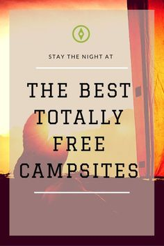 These rad campsites are totally free!