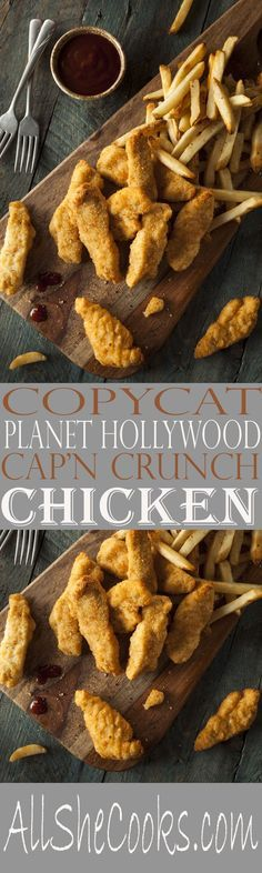 Copycat Planet Hollywood Cap'n Crunch Chicken recipe for the best chicken recipe. Now you can make this winning crunch chicken at home.