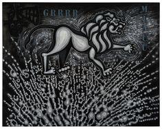 Grr-Miauu #CarlosLuna #Art #Artist #Painting