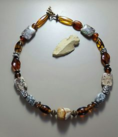 The Amber Agate Necklace