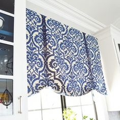 An easy and elegant no-sew solution for window coverings.