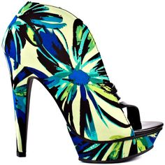 Taft - Lime Floral by Michael Antonio <3 <3