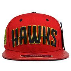 d5d9449c4f3 Pro Standard Atlanta Hawks Red Strapback NBA Hat  Strapback  caps  hats   Strabackgats