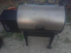 Tramping in style now 😎 #traeger #livingthelinelife Reposted Via @meg.mcniven.574