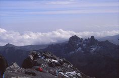 Lenana Peak summit, 4985 m, Mount Kenya Massif