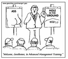 Upper management meeting
