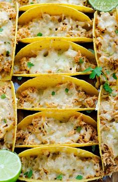 The other day I was on my blog looking over some recipes when I saw our beloved Honey Lime Chicken Enchiladas. Just looking at the photos started some major cravings, but they don't really fit into my current diet, so that's when these Oven-Baked Honey Lime Chicken Tacos were born. Tender and flavorful chicken …