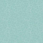 Land of Whimzie- Monkey Blue Scribble Dot
