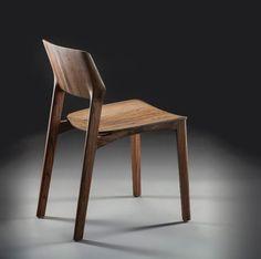 FIN by Jan-Patric Metzger, via Behance #WoodenChair