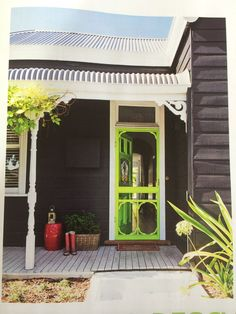 Exterior Colour Combo Dulux Effervescent Lime For Door Taubman S Black Fox Exterior With Dulux