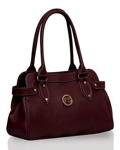 Price  You Save  Fostelo Jessy Stylish Women s Handbag (Maroon) 1c54d7b4c359e