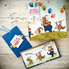 Mikaela Titheridge, The Crafty oINK Pen, UK Stampin' Up! Demonstrator: OnStage Live Amsterdam Presentation. 2017-2018 Annual Catalogue Birthday Memories Suite, Birthday Delivery, Birthday Friends Framelits, Gift Packaging Cards, Cupcake Toppers. Mabel Lucie Attwell inspired. Supplies available 1st June from my online store.