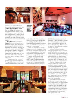 The Bangkok BigChilli. April 2013.  Thailand's number one expat magazine. Find out what's hot in Bangkok and beyond. April 2013.