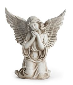 Napco 11300 Kneeling Angel with Outstretched Wings Garden Statue ** See the picture web link more details. (This is an affiliate link). Guardian Angel Pictures, Sculpture Art, Sculptures, Cherub Tattoo, Statue Tattoo, Angel Drawing, Religious Tattoos, Angel Statues, Buddha Statues