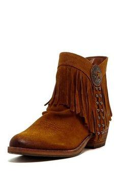 54e68acc Fringe boho boots by Kortnie Botines De Mujeres, Zapatos Azules, Uñas  Azules, Botas