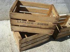 Transformer des caisses en bois en jardinières