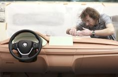 BMW X6 Interior Clay Model