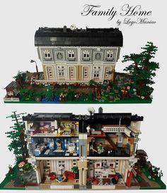 Family Home by LegoManiac / oLaF, via Flickr