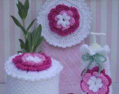 Bluebird Kitchen Set Crochet Pattern PDF by Maggiescrochet on Etsy