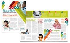Pediatrician & Child Care - Newsletter Template Design