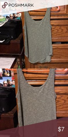 38afc7be849305 Soft tank top green with flecks of white Perfect alone or layered super  comfy tank Mudd Tops Tank Tops
