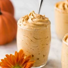 The best 5-ingredient Keto Pumpkin Mousse   Lifestyle of a Foodie Thanksgiving Recipes, Fall Recipes, Keto Recipes, Keto Pudding, Pumpkin Mousse, Cheese Pumpkin, Pumpkin Pie Recipes, Pumpkin Dessert, Fall Desserts