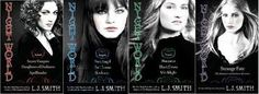 Night world series by L.J. Smith - I've only read the first two, but I really want to read the rest of them!