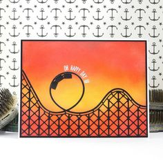 Simon Says Stamp Roller Coaster die - Google Search