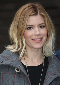 Kate Mara Blonde Ombre
