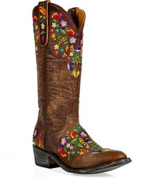 embroidered+cowboy+boots+sale | Embroidered Boots