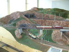 Modellbau Weber Spur, Train Journey, Planer, Shelving, Trains, Miniatures, Layout, Model Building, Shelves