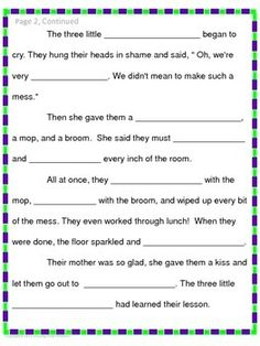 freee fairy tale mad lib things i love from tpt fairy tales for kids fairy tale crafts. Black Bedroom Furniture Sets. Home Design Ideas