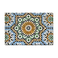 "Gallery Direct ""Morrocan Mosaic Tiles"" by OFranz Graphic Art on Wrapped Canvas"