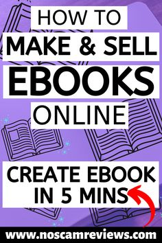 Discover how to make and sell ebooks online without putting too much effort. You will discover where to sell your ebooks and how you can create your ebook in just 5 minutes over and over again!