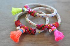 Bracelets by Archery Collections Tassel Bracelets