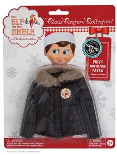 Elf on the Shelf 'Claus Couture Collection' Puffy Elf Parka