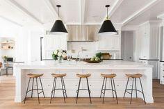 18 Modern Farmhouse Kitchen Makeover Decor Ideas