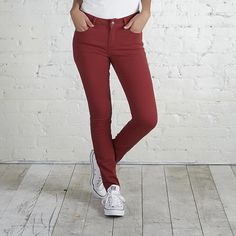 Adam Levine Women's Colored Skinny Jeans