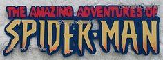 ISLANDS OF ADVENTURE - SPIDERMAN RIDE -  Scrapbook Die Cut Title - SSFFDeb