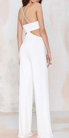 Nasty Gal Frisco Inferno Knit Cutout Jumpsuit