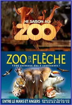 Zoo de la Flèche - La Flèche (15 km) - Retrouvez le programme des spectacles et les horaires sur le site internet:  http://www.zoo-la-fleche.com/