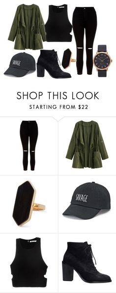 """Untitled #23"" by iamalyceparis on Polyvore featuring New Look, Jaeger, SO, T By Alexander Wang and Marc Jacobs"